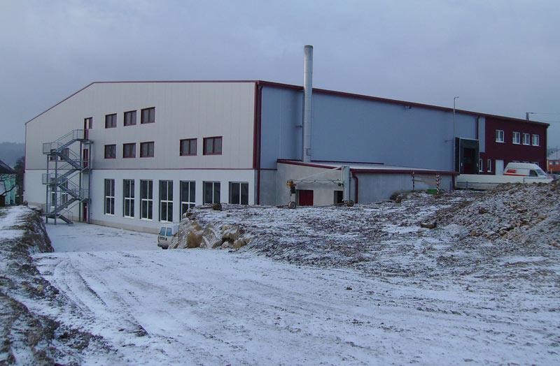 Hochbau - Lagerhalle