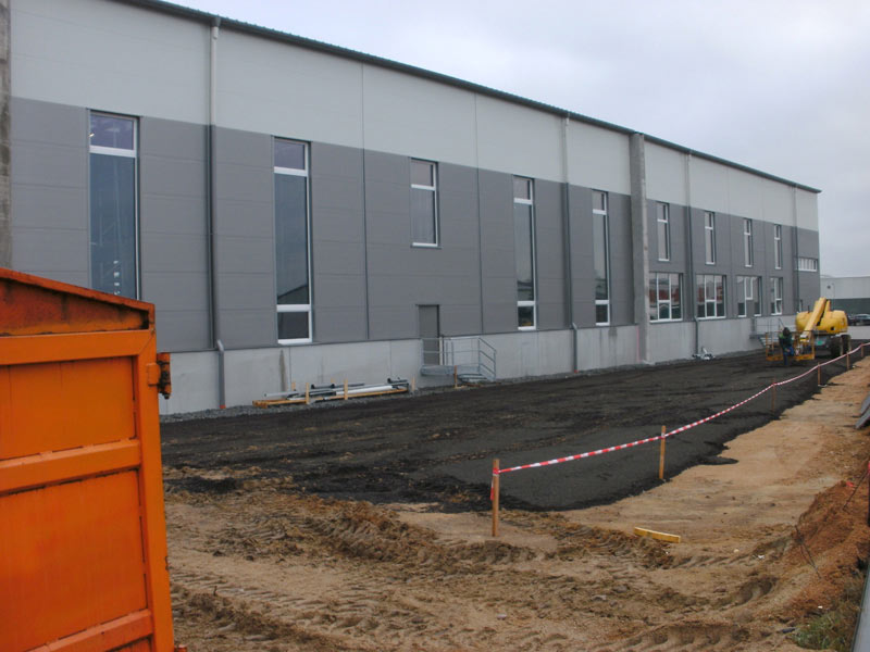 Hochbau - Industriebau Baumeister Massivbau Massivhaus