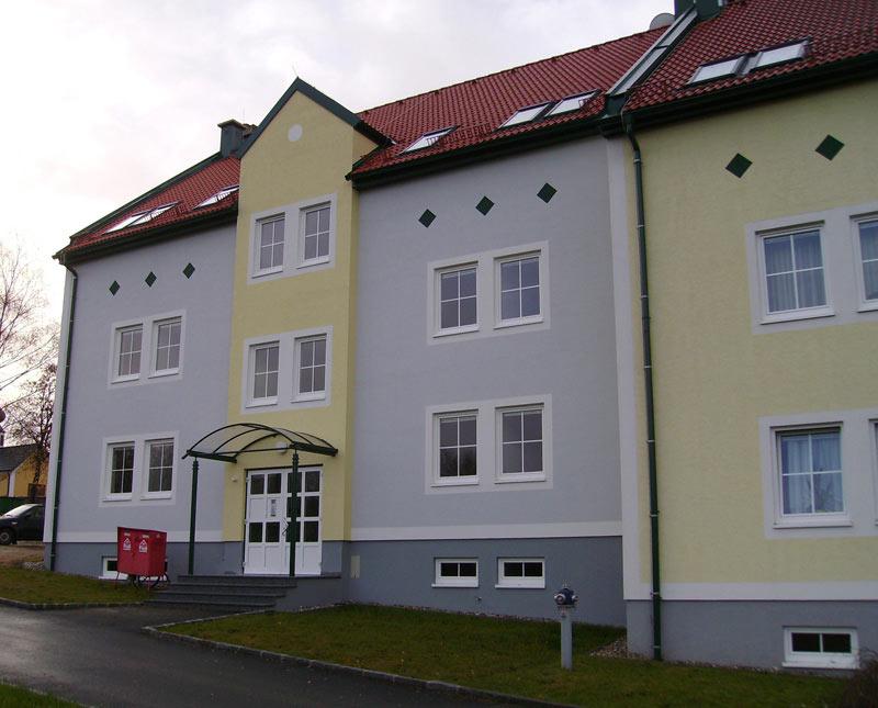 Hausbau - Hochbau - Wohnhausanlage Baumeister Massivbau Massivhaus