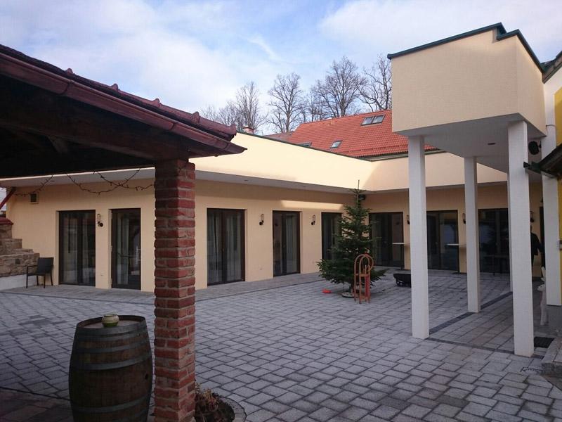 Zubau Gasthaus